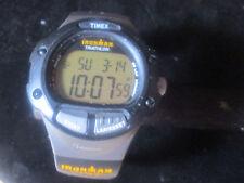 TIMEX I-CONTROL INDIGLO MENS IRONMAN TRIATHLON WATCH  - NICE USED WATCH WORKS !