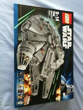 LEGO STAR WARS MILLENNIUM FALCON 7965 new and sealed damaged outer box