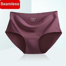 Women Panties Ice Silk Seamless Briefs High Quality Women Summer Cool Underwear
