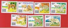 Guinea-Bissau #561-567  MVFLH OG   Big Cats   Free S/H