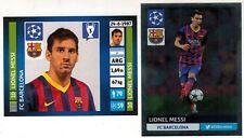 Brazil Version 2013-2014 Panini UEFA Champions League Sticker #301 #554 Messi