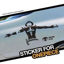 ONE PIECE Car Stickers Vinyl Reflective Anime Decal Window Door Auto Windshield