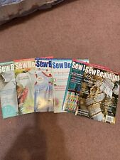 SEW BEAUTIFUL Magazines lot of 6 #134-139 Martha Pullen 2011