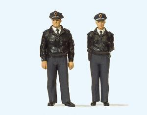Preiser 63101 Spur I -  Polizisten stehend, blaue Uniform #NEU in OVP##