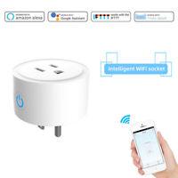 Smart US Plug Wireless Mini Wifi Outlet Works With Alexa Google Home & IFTTT APP