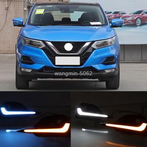 Fog light Daytime Running Light DRL LED Day Light For Nissan Rogue Sport 2020