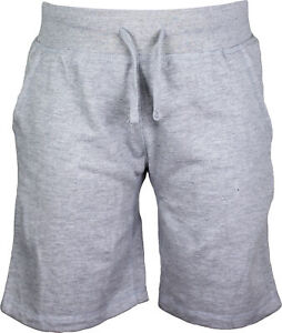 Mens Lifestyle Fleece Jogger Shorts Athletic Fit Hipster Hip Hop
