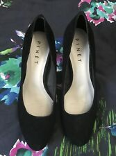 BRAND NEW PINET BLACK SUEDE PUMPS SIZE 10