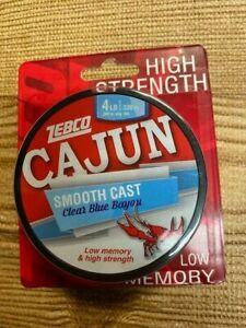 Zebco Cajun gator clear blue tough high strenghth   4 lb 330yds Fishing Line