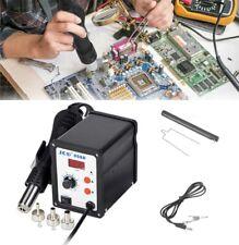 700w Electric Soldering Station Hot Air Heat Welding Gun 110v Desoldering Tool