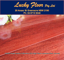 12mm High Gloss AC4 Jarrah LAMINATE FLOORING /FLOATING FLOOR