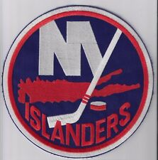 "New York Islanders 8"" Iron-on, embroidered NHL patch > jersey crest"