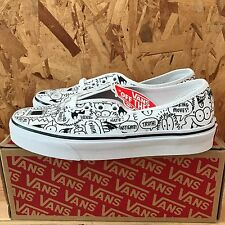 74e5467ff7 VANS AUTHENTIC TRUTH KEVIN LYONS TRUE WHITE BLACK SIZE 5 NEW IN BOX