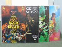 Book of Death #1, #2, #3 & #4 Valiant Variant Edition Comics CB8580