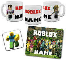 Personalised Roblox Mug with Coaster & Placemat Options
