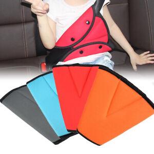 Child Kids Safety Car Seat Belt Shoulder Harness Adjuster Pad Strap Cover Clip