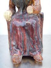 Statue femme bretonne sculpture Géo Martel 1900-1920