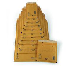 Caja lote de 100 Sobres Kraft Acolchados Burbuja Marron Nº-11 110x160 131868AV