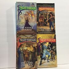 4 PC Lot Night-Threads The Craft of Light/One Land Ru Emerson 160 Free Shipping