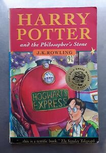 J.K.Rowling HARRY POTTER AND THE PHILOSOPHER'S STONE 1st/14th ED. Bloomsbury pb