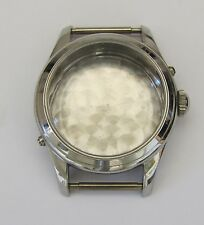 Stainless Steel. Nos, swiss made Valjoux 89 triple calendar moonphase, case