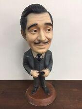 "Rare Vintage Clark Gable Esco Chalkware Statue Figure 17"" Tall"