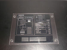 Roland A90 A90EX Display Cover /  Front Panel LCD Bezel / Signal Map /  00788978