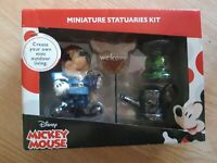 Disney Mickey Gnome Miniature Statuaries Kit Figurines Garden Outdoor Decor