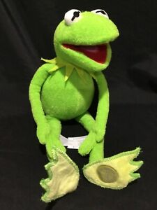 Kermit the Frog Plush Toy Disney Store Exclusive Muppets 45cm Tall