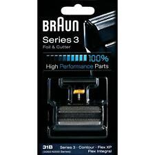 Braun 31B Genuine Replacement Razor Blades Shaver Refill  Foil&Cutter Cassette