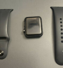 Apple Watch Series 3 Aluminum Case 38mm (GPS) A1858 Space Gray S/M Black Band