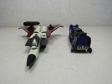 Lot of 2 Vintage Transformers G1 Astrotrain & Ramjet Decepticons Hasbro 1985