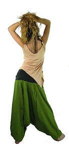 ALI BABA HAREM PANTS baggy pants cotton pants harem pants women FREE Post to UK