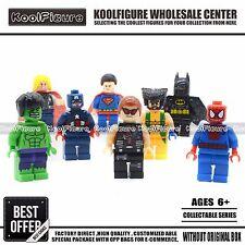 Custom Super Heroes Avengers DIY Building Toys 8Pcs/Set for kid,Gift for Kids