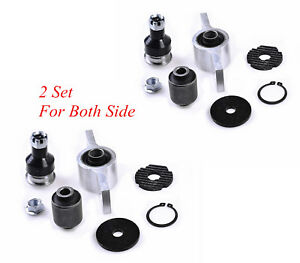 2 Set Quality Front Lower Control Arm Bushing Kit For NISSAN ELGRAND E51 02-10