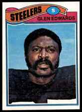 1977 TOPPS FOOTBALL GLEN EDWARDS #381 NM-MT HI-GRADE SET BREAK FTR3G1