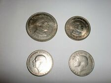 - REPUBLIC OF INDIA - 4  RARE  COINS OF JAWAHARLAL NEHRU - 1ST PRIME MINISTER
