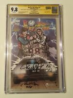 Back to the Future #1 CGC SS 9.8 Autograph 6 times Fox, Lloyd, Thompson, +3 more