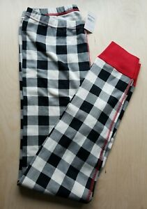NWT Hanna Andersson BUFFALO FAMILY PLAID  ADULT  Pajama Pants UNISEX ADULT XL