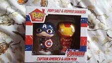 BNIB Disney Store The Avengers Pop! Age of Ultron Salt & Pepper Shakers