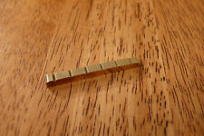 BRASS GUITAR NUT 42MM SLOTTED FOR STRATOCASTER TELECASTER
