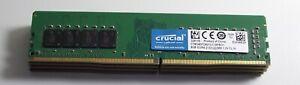 32gb (4 x 8gb) DDR4 PC4-2133 Desktop PC RAM kit - Crucial CT8G4DFD8213 -