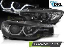 Coppia Fari Fanali Anteriori Tuning BMW F30/F31 2011-2015 ANGEL EYES LED DRL