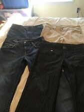 Guess Lucky Brand Tommy Jeans Pants Juniors Women's Size 4 Lot Of 4 Pairs