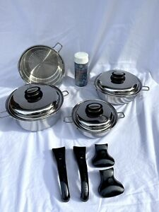 SALADMASTER PERSONAL SET 316Ti STAINLESS STEEL Waterless Cookware