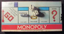 1961 MONOPOLY Board Game #9 Sealed / Parker Brothers