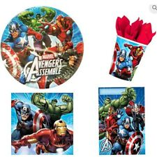 The Avengers Party Pack 8 Plates,8 Cup,8 LootBags, 16 Napkins