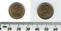 Australia 1979 - 1 Cent Bronze Coin - Feather-tailed Glider - Queen Elizabeth II