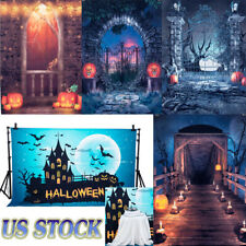 5x7Ft Halloween Vinyl Photography Backdrop Studio Photo Cloth Background Prop Us