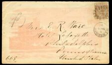 Barbados 1888 cover/4d/red overall illustrated Hotel ad